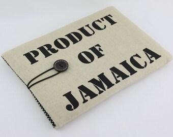 "Retro Style Laptop Case, 13"" MacBook Case, 13"" MacBook Air Case,13"" MacBook Pro Case,PADDED - Product of Jamaica"