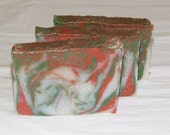 CIJ SALE Clearance - Tobacco and Bay Leaf Mens Luxury Cold Process Rustic Soap