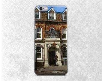 England iPhone 7 Case, English Pub Phone Case, Gift for Beer Lover, UK iPhone, British iPhone 6 Case, British Pub, iPhone 7 Tough Case, 5S