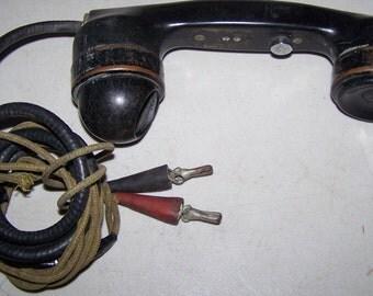 Vintage Telephone Hand Test Set