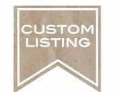 Custom Listing for kbast8212