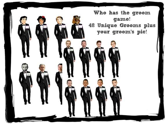 Amazing image regarding who has the groom printable