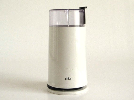 Braun Coffee Grinder ~ Braun coffee grinder ksm type electric spice mill used