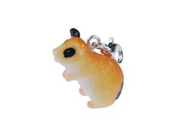 [BUNDLE]  Hamster charm pendants begging Miniblings pet hamster spotted