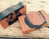 HARVEST(with Moroccan Red Clay) Goat's Milk Soap Superfatted with Castor Oil