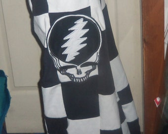 Steal Your Face Patchwork Corduroy  Pants Made for you Custom