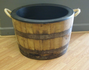 Wrought Iron Stand For White Oak Rain Barrels By