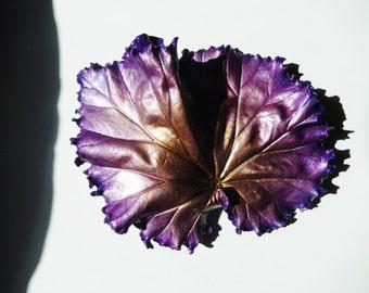 Purple Leaf Casting