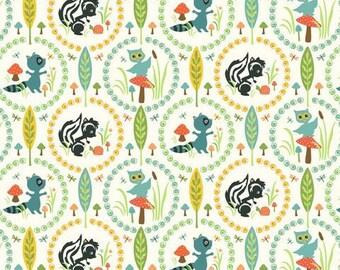 Riley Blake Woodland Tails by Sheri Berry Designs: 1/2 Yard Pre-cut fabric