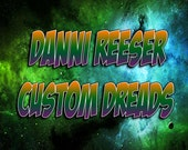 RESERVED FOR Danni Reeser Custom Synthetic Dreadlocks