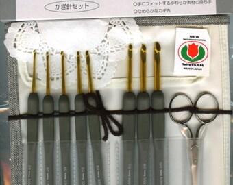 Tulip Etimo Royal Silver Crochet Hook Set