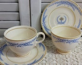 Sheffield by Salem China Cup & Saucer Sets x2