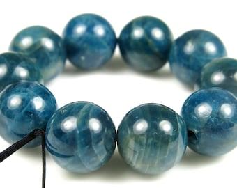 Quality Apatite Round Beads - 10mm - 10 Pieces - B5211