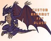 Custom Bahamut Dragon FF7 Plush Toy