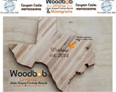 16'' Texas personalized cutting board cutting board with custom logo reserved for  catherine reed