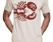 Lobster T Shirt - American Apparel Tshirt - XS S M L XL 2XL (Color Options)
