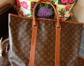 Rare and Vintage LOUIS VUITTON Steamer Bag Keepall Duffle Suitcase Luggage Weekender Travel Tote Suitcase Holiday Gift  Accessory