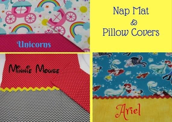 Nap Mat Cover Sets Unicorn Nap Mat Cover Minnie Mouse Nap