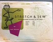 Stretch and Sew 2050 Ladies Panties Vintage Ann Person