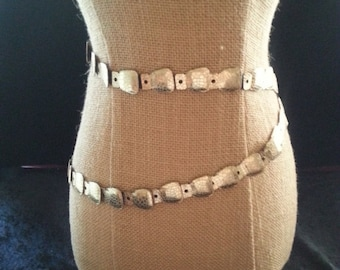 Now On Sale 1960's Mid Century Collectible Belt ** Retro Rockabilly Belt ** Plus Size Glamour Girl Accessory