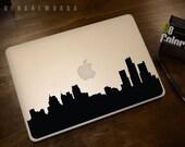 Detroit Skyline Macbook Decal 1 | Macbook Sticker | Laptop Decal | Laptop Sticker | Car Sticker