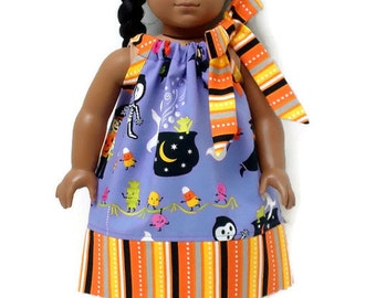 18 inch Doll Clothes Pillowcase Dress Halloween Costume Clubhouse 15 inch Doll Clothes