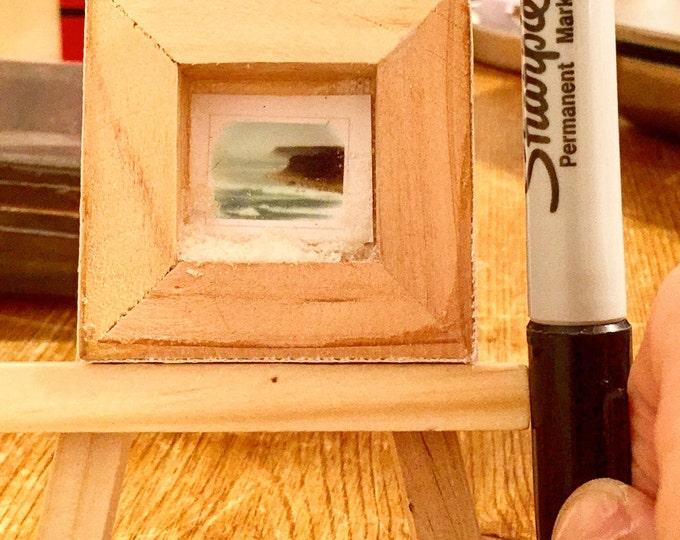Teeny-Tiny photos, tiny frames, tiny easels!