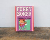 Vintage Funny Bones Card Game By Parker Brothers 1968