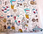 Tissu Alice au pays des Merveilles - 50 cm