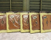 Wood Wooden 2 switch/ Light Switch Plate Cover With Screws