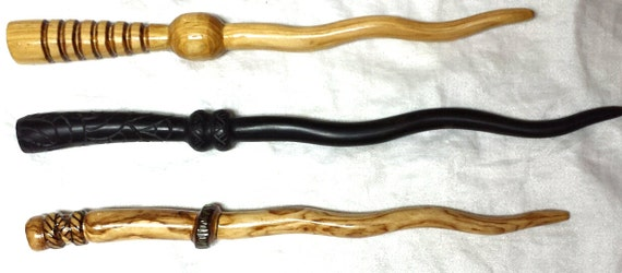 Your magic wand intermediate custom made solid wood