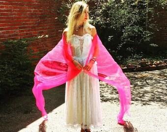 White Party or Wedding Dress Gunne Sax by Jessica McClintock