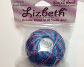 Lizbeth Tatting Thread - Island Breeze - Color #130 - Size 40 - Handy Hands - Your Choice of Amount