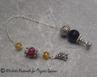 Fairy Agate Dowsing Pendulum (DP0305)