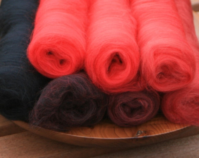 Poppy Gradient Batt Set