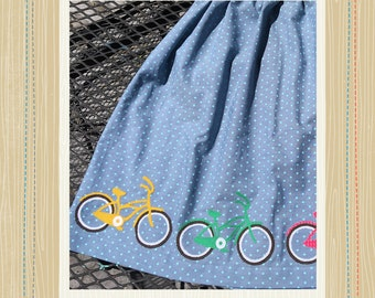 Bicycle Applique Pattern