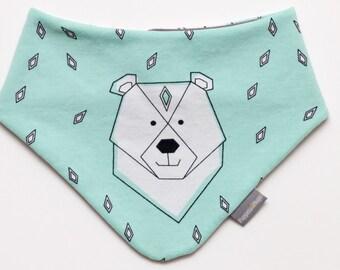 Dribble bib, baby bandana, bib, slabbetje, kwijl sjaaltje