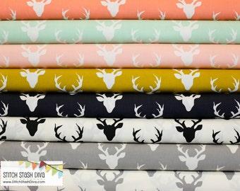 Buck Forest Fat Quarter Bundle (8 Fabrics Total)