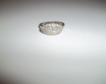 Vintage Signed ESPO Sterling Multistone Ring Size 7