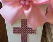 18 Communion boxes and 16 - 2 layer favor tags
