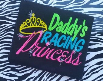 Daddy's Racing Princess Shirt