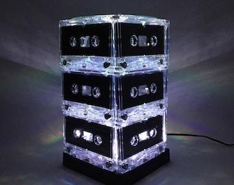 Rock n Roll Gift Mixtape Light White Cassette Tape Lamp Mixtape Light
