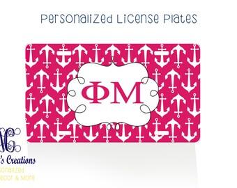 Kappa Kappa Gamma/Personalized License Plate