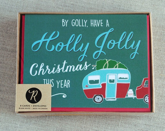 Christmas Card Boxed Set Holiday Cards Boxed Set Christmas