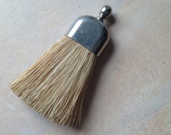 VERY SMALL Antique clothing/suede brush