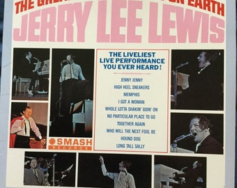 Jerry Lee Lewis The Greatest Live Show On Earth on Smash Records 1964