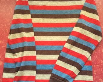 Vintage Billy the kid boys stripe shirt rockabilly top small