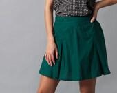 Mini skirt, saint Patricks day, high-waisted, uniform, kilt, Harry Potter, pleated skirt~Thrives (Skirt)