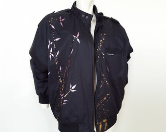 Hand painted Members Only jacket