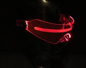 Overwatch Soldier 76 cosplay visor